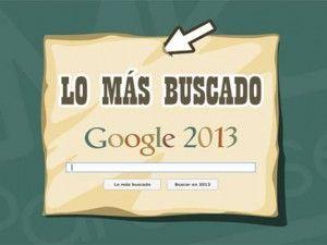 Google Zeitgeist 2013: ¿Qué ha pasado este año?