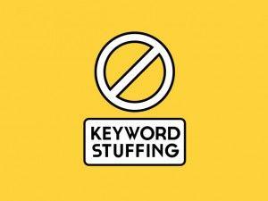 ¿Qué es keyword stuffing?
